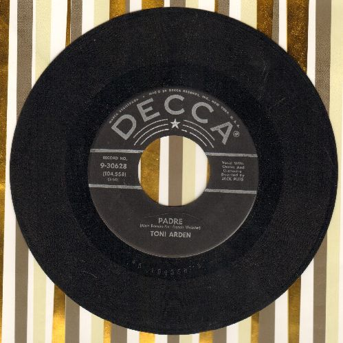 Arden, Toni - Padre/All At Once  - EX8/ - 45 rpm Records