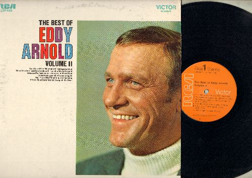 Arnold, Eddy - The Best Of Eddy Arnold Vol 2: Misty Blue, Tennessee Stud, Release Me, The Tip Of My Fingers (vinyl STEREO LP record) - NM9/EX8 - LP Records