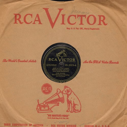 Arnold, Eddy - Just A Little Lovin'/My Daddy Is Only A Picture (10 inch 78rpm record with RCA company sleeve) - EX8/ - 78 rpm