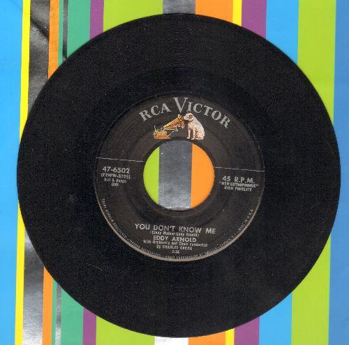 Arnold, Eddy - You Don't Know Me/The Rockin' Mockin' Bird - EX8/ - 45 rpm Records