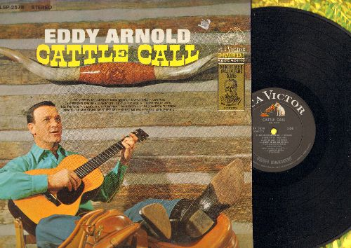 Arnold, Eddy - Cattle Call: The Streets Of Laredo, Cool Water, Cowpoke, The Waywward Wind, Tumbling Tubleweeds (vinyl STEREO LP record) - EX8/EX8 - LP Records
