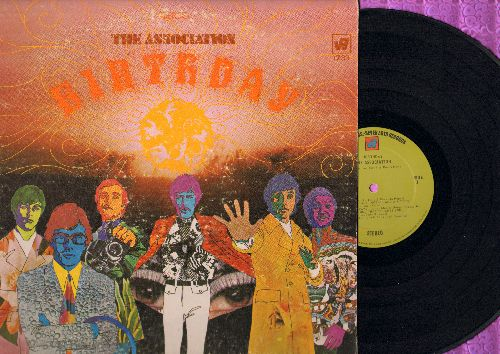 Association - Birthday: Come In, Toymaker, Birthday Morning, Time For Livin' (vinyl STEREO LP record) - VG7/VG6 - LP Records