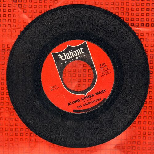 Association - Along Comes Mary/Your Own Love  - EX8/ - 45 rpm Records