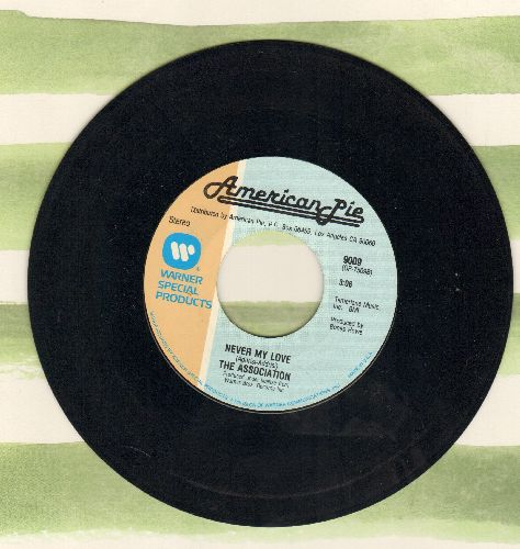 Association - Never My Love/But It's Alright (by J. J. Jackson on flip-side) (re-issue) - EX8/ - 45 rpm Records