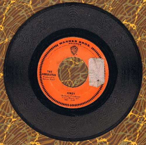 Association - Windy/Sometime (sol) - VG7/ - 45 rpm Records