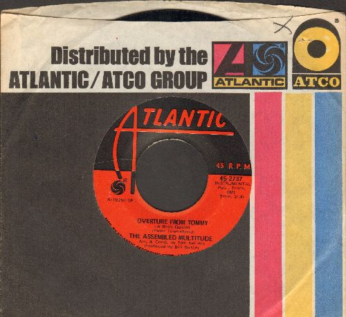 Assembled Multitudes - Overture From Tommy (A Rock Opera)/Mud (with Atlantic company sleeve) - EX8/ - 45 rpm Records