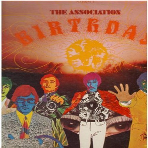 Association - Birthday: Come In, Toymaker, Birthday Morning, Time For Livin' (vinyl STEREO LP record) - NM9/NM9 - LP Records