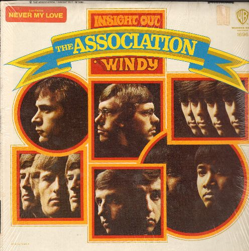 Association - Insight Out: Windy, We Love Us, Never My Love, Happiness Is, Requiem For The Masses (vinyl STEREO LP record, NICE condition, with shrink wrap) - NM9/NM9 - LP Records