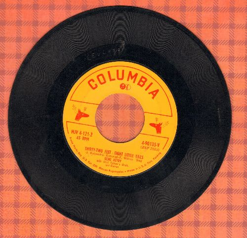 Autry, Gene - Thirty-Two Geet - Eight Little Tails/The Three Little Dwarfs - VG6/ - 45 rpm Records