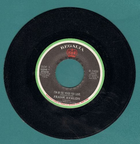 Avalon, Frank - I'm In The Mood For Love/It's The Same Old Dream - NM9/ - 45 rpm Records