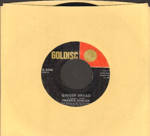 Avalon, Frankie - Ginger Bread/Bobby Socks To Stockings (double-hit re-issue) - VG7/ - 45 rpm Records
