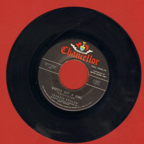 Avalon, Frankie - Gotta Get A Girl/Who Else But You - NM9/ - 45 rpm Records