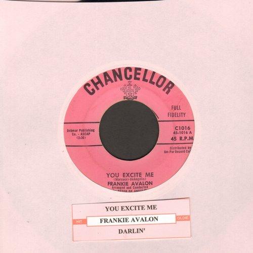 Avalon, Frankie - You Excite Me/Darlin' - EX8/ - 45 rpm Records
