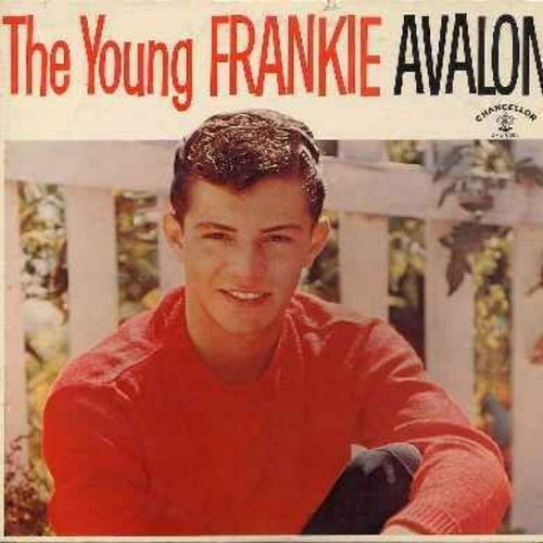 Avalon, Frankie - The Young Frankie Avalon: Undecided, Fever, Teach Me Tonight, Too Young To Love, The One I Love, Shy Guy (vinyl MONO LP record) - NM9/EX8 - LP Records