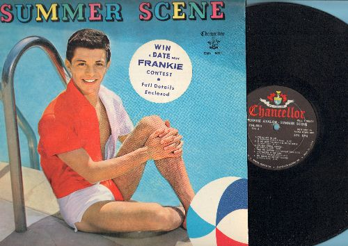 Avalon, Frankie - Summer Scene: If I Had You, Did You Ever See A Dream Walking?, It's Only A Paper Moon, Over The Rainbow, For Sentimental Reasons (vinyl MONO LP record) - NM9/EX8 - LP Records