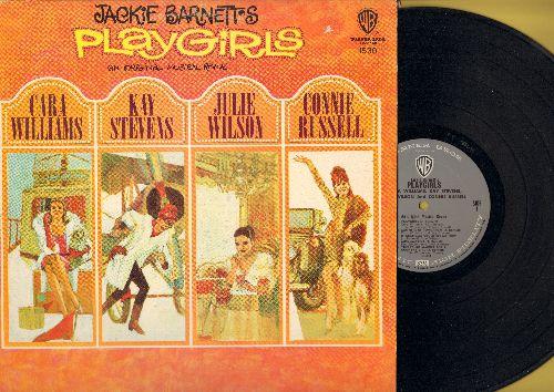 Williams, Carla, Kay Stevens, Julie Wilson, Connie Russell - Jacie Barnett's Playgirls - An Original Musical Revue (vinyl MONO LP record) - NM9/EX8 - LP Records