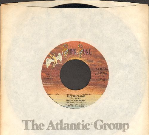 Bad Company - Electricland/Untie The Knot (with Atlantic company sleeve) - EX8/ - 45 rpm Records