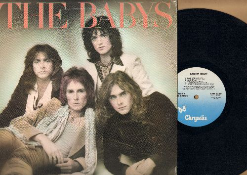 Babys - Broken Heart: Rescue Me, Wrong Or Right, The Golden Mile, A Piece Of The Action (vinyl LP record) - NM9/EX8 - LP Records