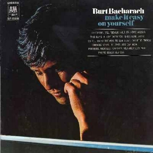 Bacharach, Burt - Make It Easy On Yourself: I'll Never Fall In Love Again, Any Day Now, Whoever You Are I Love You, Do You Know The Way To San Jose, This Guy's In Love With You (vinyl STEREO LP record) - NM9/EX8 - LP Records