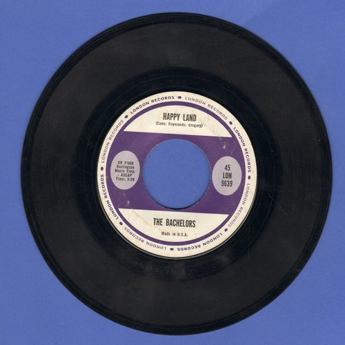 Bachelors - Happy Land/Diane - NM9/ - 45 rpm Records