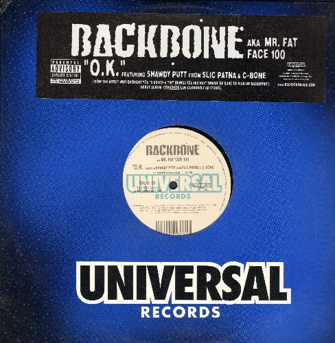 Backbone - O.K. (Vinyl Maxi Record) (Explicit Lyrics) - NM9/NM9 - Maxi Singles