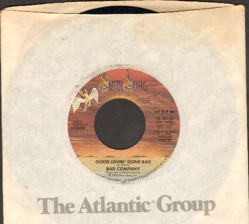 Bad Company - Gone, Gone, Gone/Take The Time - NM9/ - 45 rpm Records