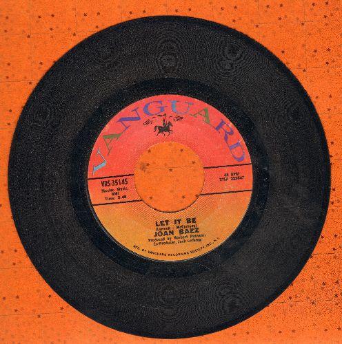 Baez, Joan - Let It Be/Poor Wayward Stranger - VG7/ - 45 rpm Records