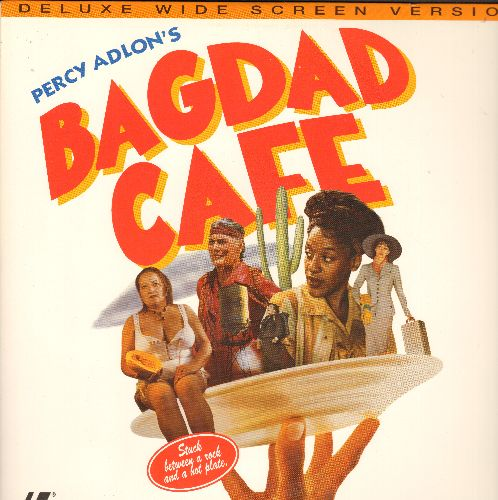Bagdad Café - Bagdad Café - LASER DISC Deluxe Widescreen Edition of the Camp Classic (This is a LASER DISC, NOT any other kind of media!) - NM9/NM9 - Laser Discs