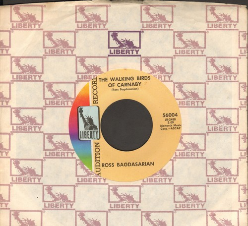 Bagdasarian, Ross - The Walking Bird Of Carnaby/Red Wine (DJ advance copy with Liberty company sleeve) - NM9/ - 45 rpm Records