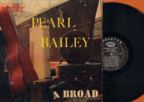 Bailey, Pearl - Pearl Bailey A-Broad: C'est Magnifique, Loch Lomond, That's What I Like About The North, Ballin' The Jack (vinyl MONO LP record, 1958 first pressing) - NM9/EX8 - LP Records