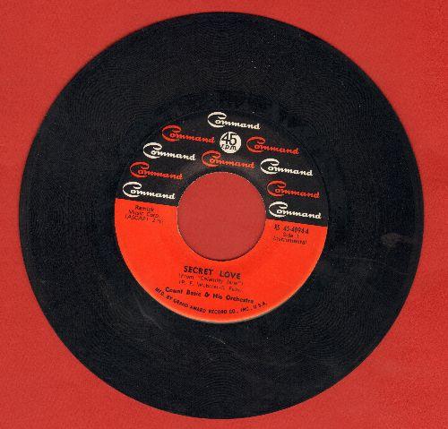 Basie, Count & His Orchestra, Joe Williams, Dave Lambert, Jon Hendricks, Annie Ross - Secret Love/Laura - NM9/ - 45 rpm Records