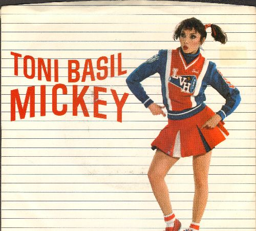Basil, Toni - Mickey (PARTY FAVORITE!)/Thief On The Loose (with juke box label) - M10/EX8 - 45 rpm Records