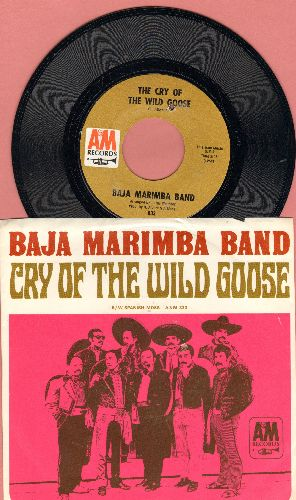 Baja Marimba Band - Cry Of The Wild Goose/Spanish Moss (with picture sleeve) (bb) - NM9/EX8 - 45 rpm Records