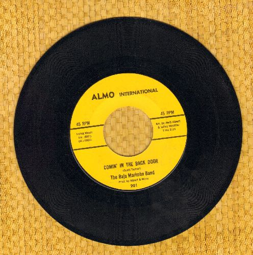 Baja Marimba Band - Comin' In The Back Door/December's Child - NM9/ - 45 rpm Records