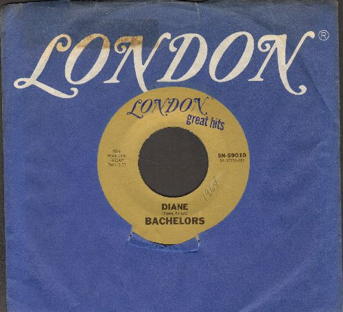 Bachelors - Diane/I Believe (early double-hit re-issue with London company sleeve) - NM9/ - 45 rpm Records