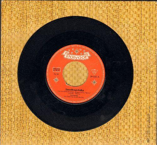 Backus, Gus - Sauerkraut Polka/Alle Schotten sparen (German Pressing, sung in German) - EX8/ - 45 rpm Records