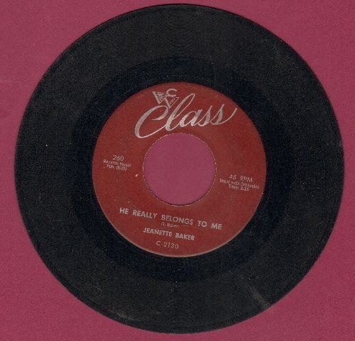 Baker, Jeanette - He Really Belongs To Me/Moonbeam - VG7/ - 45 rpm Records