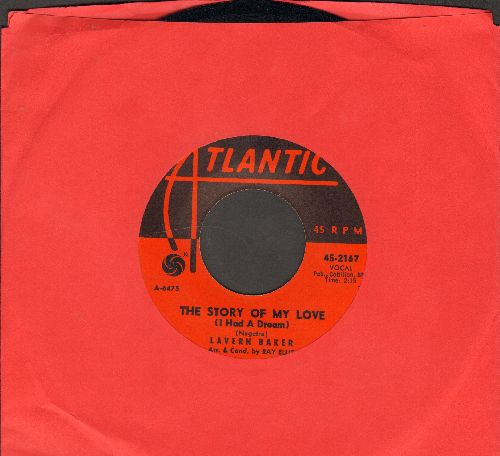 Baker, LaVern - The Story Of My Love (I Had A Dream)/See See Rider (with juke box label) - EX8/ - 45 rpm Records