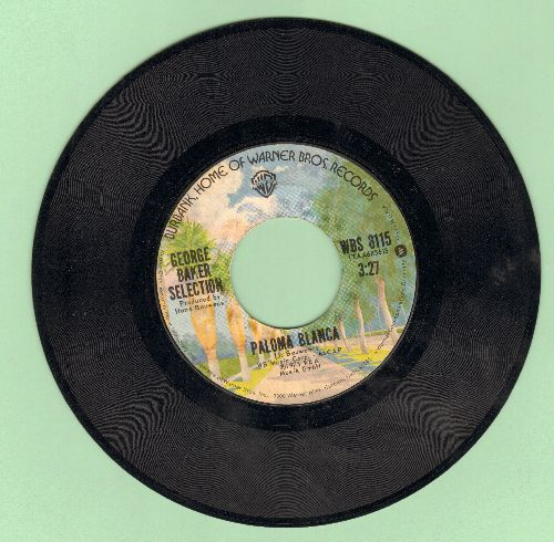 Baker, George Selection - Paloma Blanca (#1 World Hit of 1975!)/Dreamboat - VG7/ - 45 rpm Records