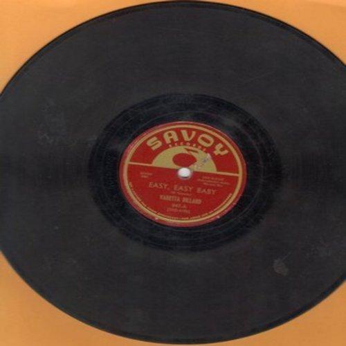 Dillard, Varetta - A Letter In Blues/Easy, Easy Baby (10 inch 78rpm record) - G5/ - 78 rpm