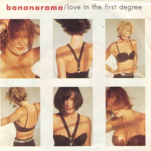 Bananarama - Love In The First Degree/Ecstacy (with picture sleeve) (sos) - NM9/VG7 - 45 rpm Records