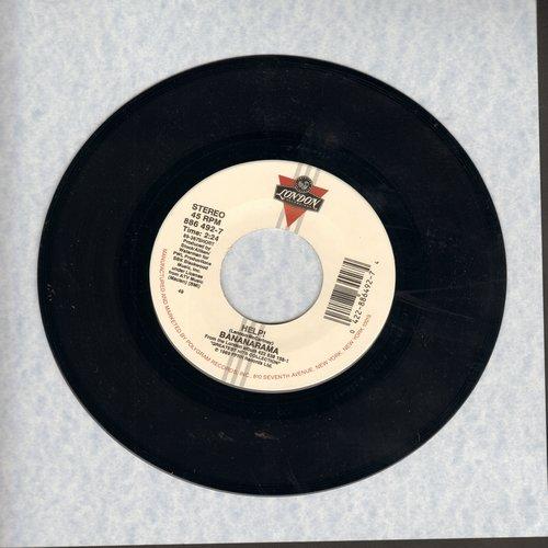 Bananarama - Help! (long version + short version of legendary Lennon/McCartney Hit) - NM9/ - 45 rpm Records