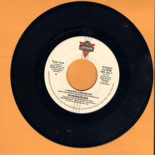Bananarama - I Heard A Rumour/Clean Cut Boy  - NM9/ - 45 rpm Records