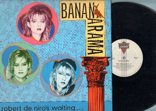 Bananarama - Robert De Niro Is Waiting/Push (12 inch vinyl Maxi Single with picture cover) - NM9/EX8 - Maxi Singles