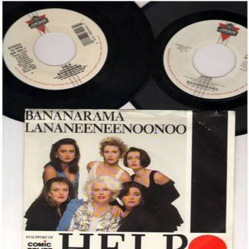 Bananarama - 2 for 1 Special: Venus/Help! (2 original first issue 45rpm records, -one with picture sleeve!- for the price of 1!) - NM9/ - 45 rpm Records