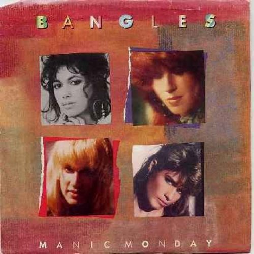Bangles - Manic Monday/In A Different Light (with picture sleeve) - NM9/EX8 - 45 rpm Records