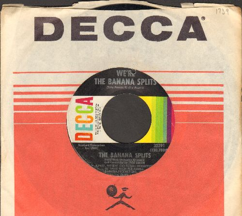 Banana Splits - We're The Banana Splits/Wait Til Tomorrow (with vintage Decca company sleeve) (bb) - VG7/ - 45 rpm Records