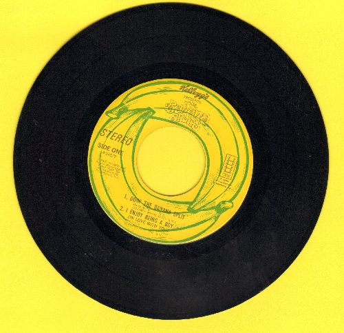 Banana Splits - Doin' The Banana Split/I Enjoy Being A Boy (In Love With You)/The Beautiful Calliopa/Let Me Remember You Smiling (vinyl EP record, first issue NO picture cover!) - EX8/ - 45 rpm Records