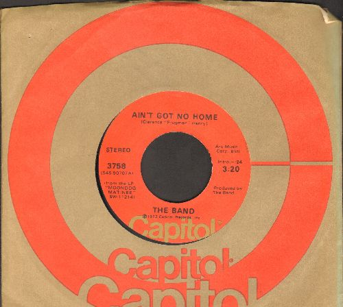 Band - Ain't Got No Home/Get Up Jake (with Capitol company sleeve) - EX8/ - 45 rpm Records