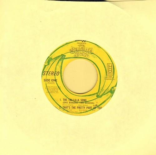 Banana Splits - Tra-La-La-La-La-La-La (The Banana Splits Song)/That's The Pretty Part Of You/It's A Good Day For A Parade/The Very First Kid On The Block (vinyl EP record, no picture cover) - VG6/ - 45 rpm Records